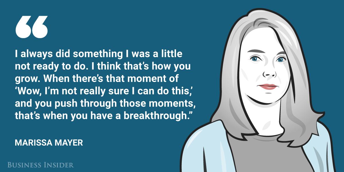 Marissa Mayer, Yahoo CEO