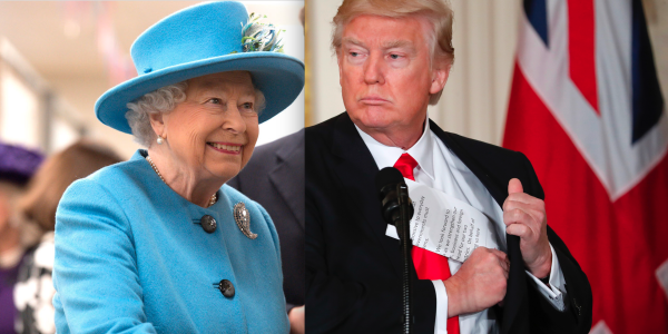 Donald Trump's meeting with the Queen will be very, very ...