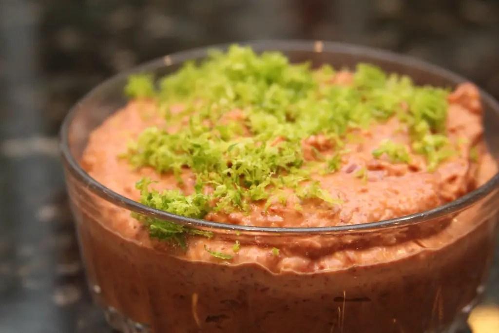 RHODE ISLAND: Bean dip