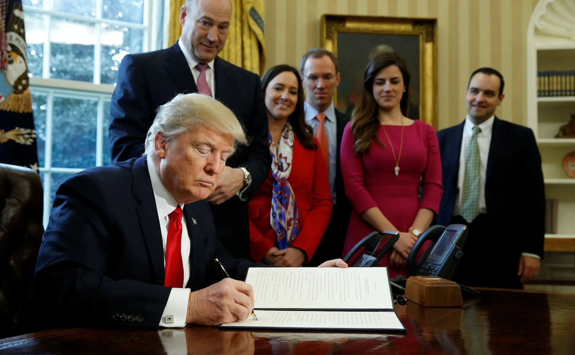 Executive Order, February 3: Reviewing Wall Street regulations