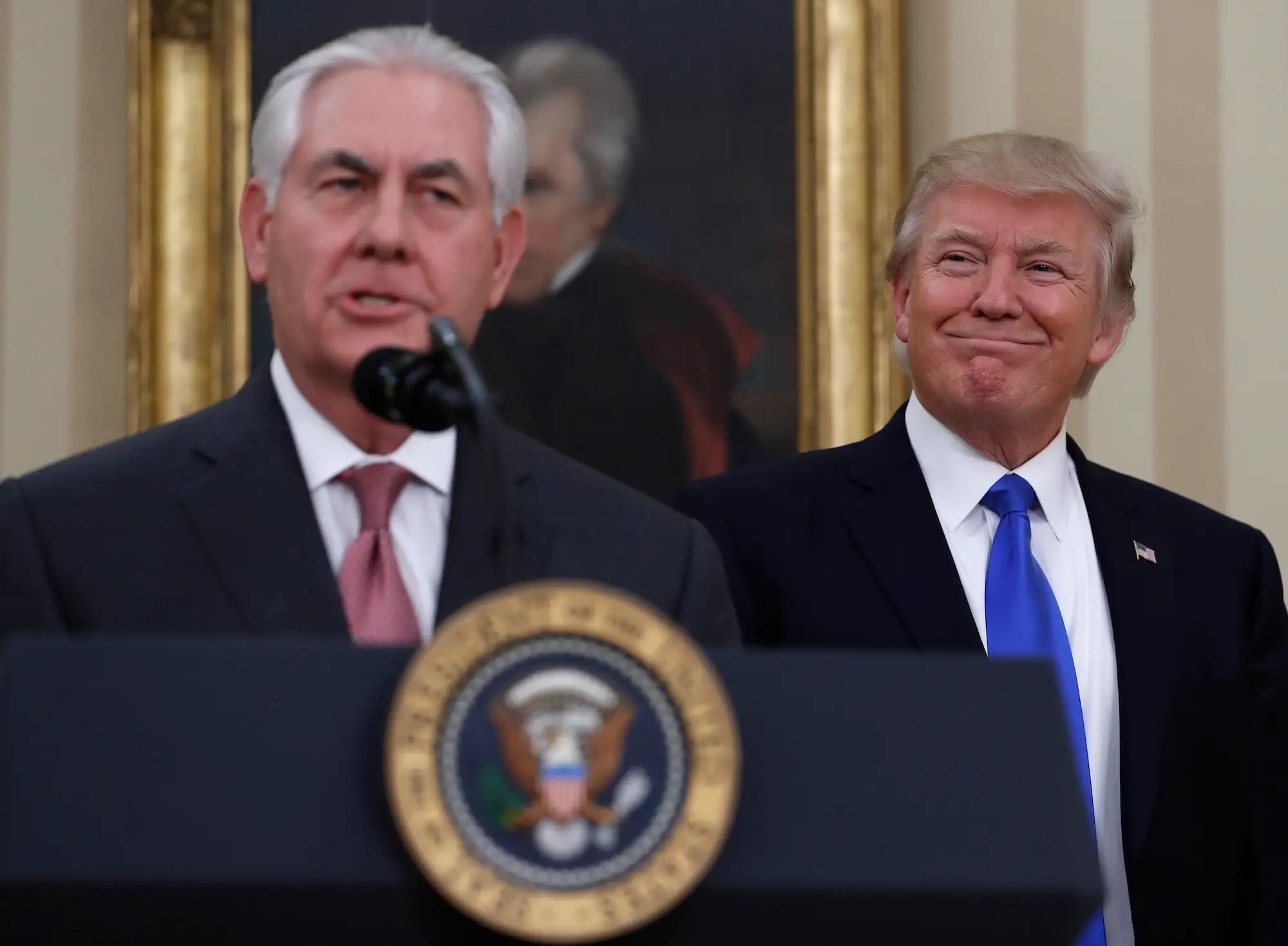 Presidential memorandum, March 20: Delegating to Tillerson