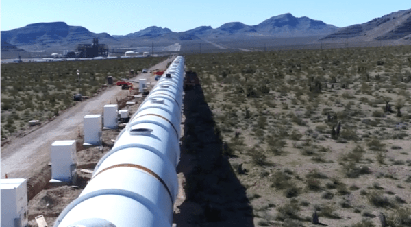 hyperloop one nevada rail