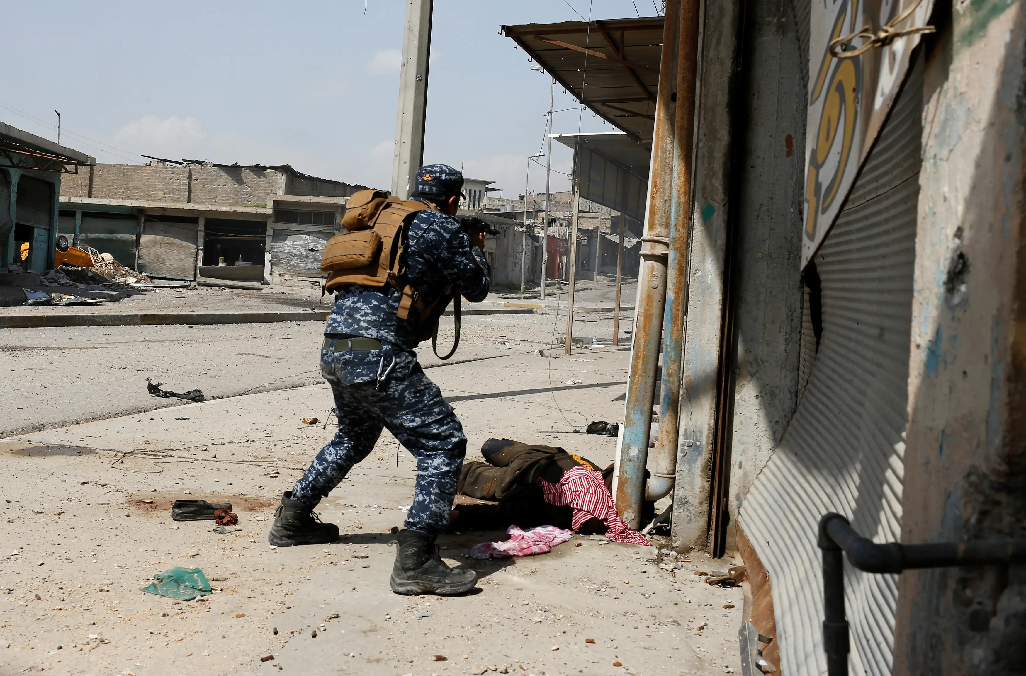 Iraq Mosul security forces soldiers soldiers killed wounded victims