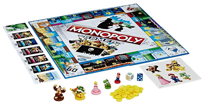 Super Mario Monopoly Cards