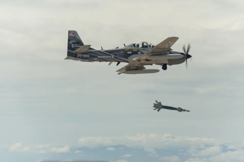 Embraer Super Tucano A-29 Light Attack Experiment
