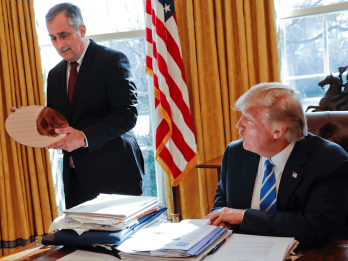 trump intel ceo brian krzanich after merck, ceos of intel, under armour quit trump panel over rally After Merck, CEOs of Intel, Under Armour quit Trump panel over rally ap17039657422216