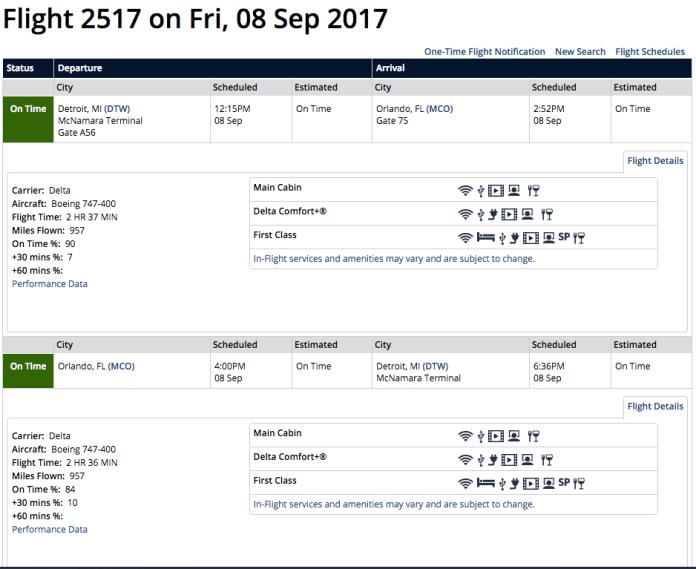 Delta flight 2517
