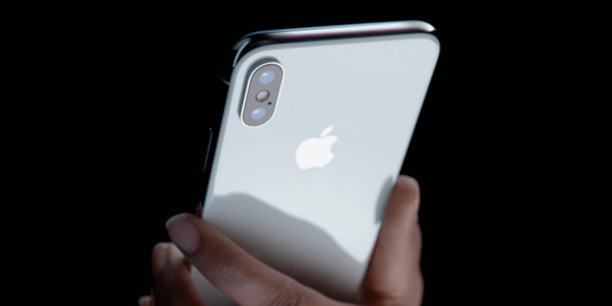 Desain Iphone X yang kurang menarik di bagian depan dan belakang