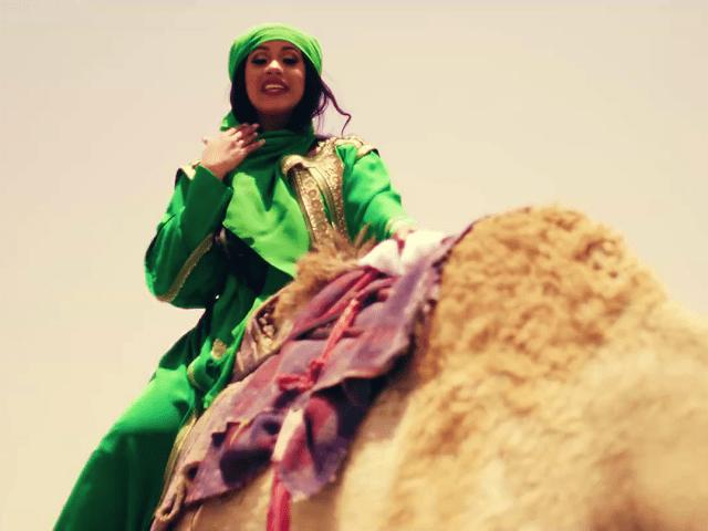 Cardi B bodak yellow music video camel