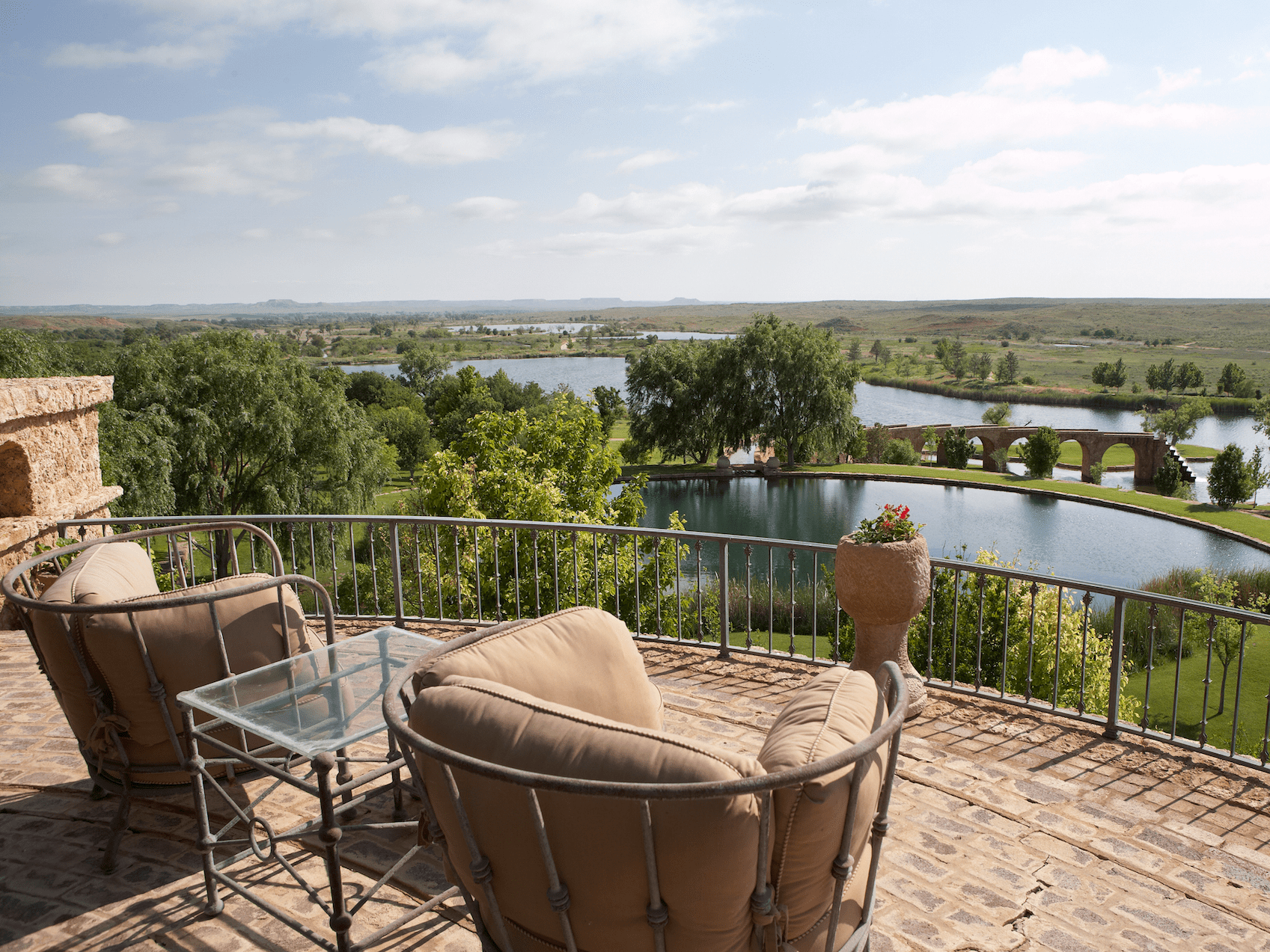 Mesa Vista is an oasis of luxury in the Texas prairie. It's being sold turnkey, meaning all furnishings and equipment — except for Pickens' personal belongings and art collection — are included in the sale.