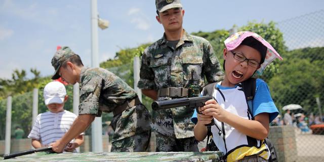 china children weapons