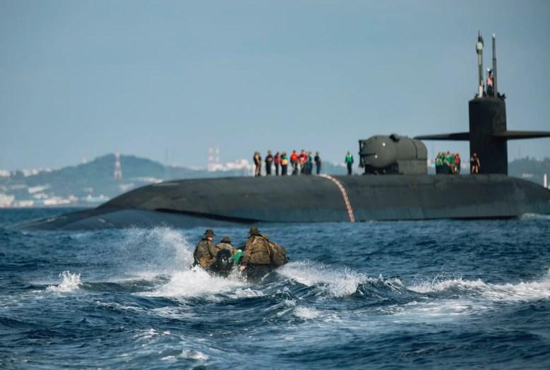 Navy submarine Ohio Marine Force Reconnaissance