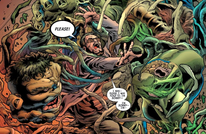 The Immortal Hulk Just Gruesomely Murdered Someone   CBR