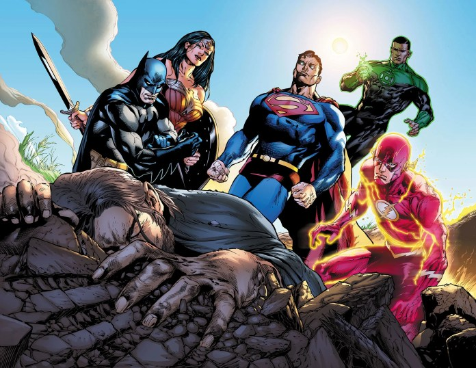 justice league scott snyder robert venditti doug mahnke