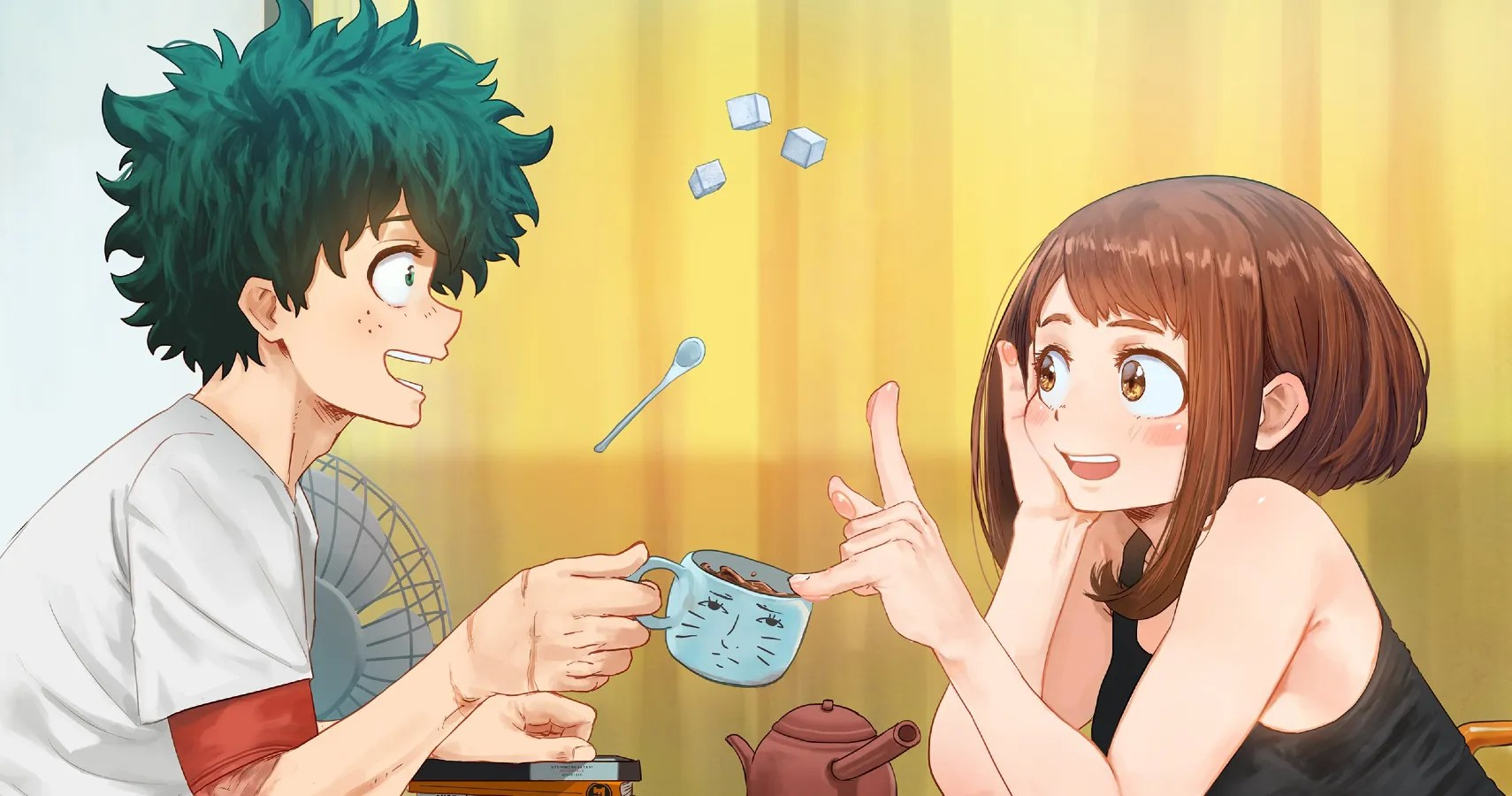 Cover your walls or use it for diy. My Hero Academia: 10 Pieces Of Izuku & Ochako Fan Art That ...