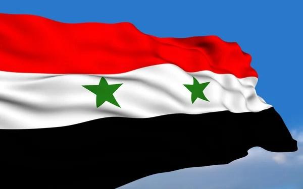 Resultado de imagen para siria bandera