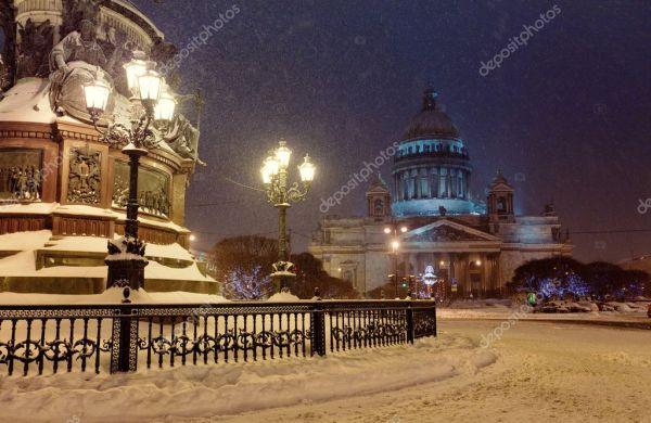 Святой isaac собор — Стоковое фото © JuliaSha #1702979