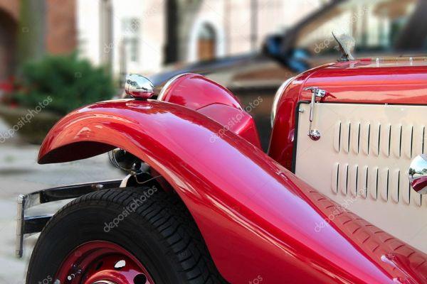 Старый красивый автомобиль — Стоковое фото © cobalt88 #2008732