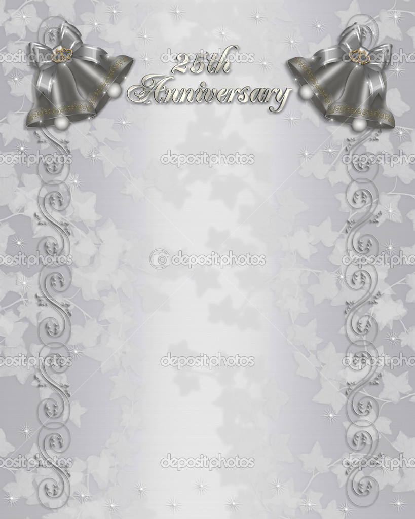 25th wedding anniversary invitation stock photo image by c irisangel 2126458