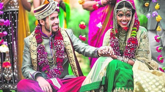 Resultado de imagen para parejas hindúes