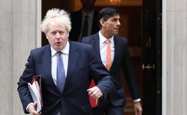 British Prime Minister Boris Johnson photographed on July 19.