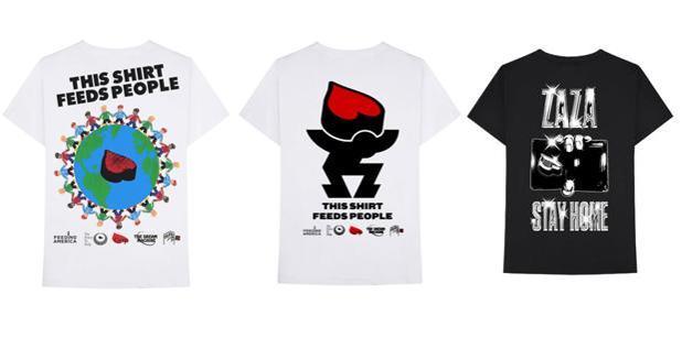 T-shirts Zaza World, $ 35.