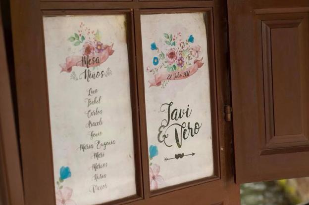 Una boda marcará la diferencia con los pequeños detalles y el papel con las tipografías siempre suman.