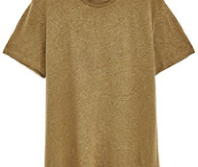 Zara Linen T Shirt