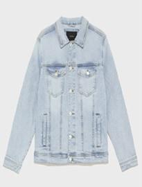 Veste en jean Zara Basic