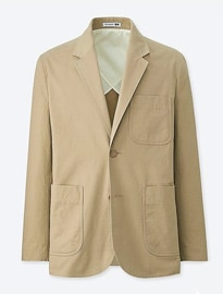 Uniqlo Hommes Jw Anderson Light Chino Tailored Jacket