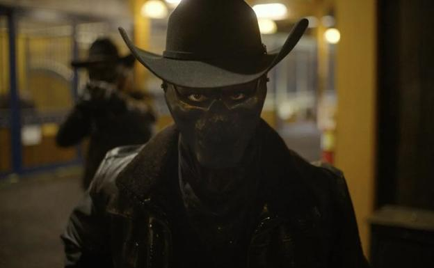 A still from 'The infinite purge'.