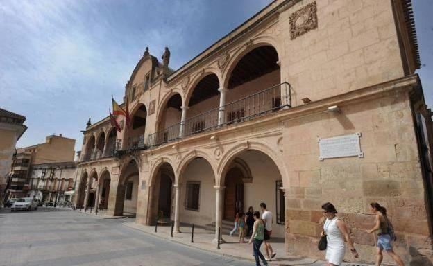 The town hall of Lorca, in a file photograph.