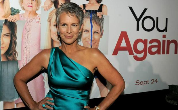 Jamie Lee Curtis at the premiere of 'You Again?'  in 2010.