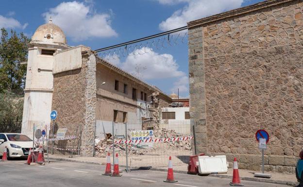 The San Antón prison.