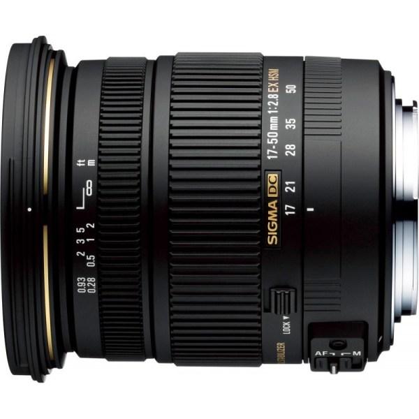 Sigma 17-50мм f/2.8 EX DC OS HSM объектив для Nikon ...