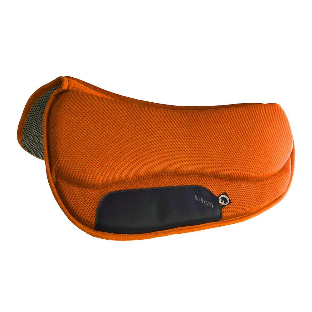 tapis western orange fluo