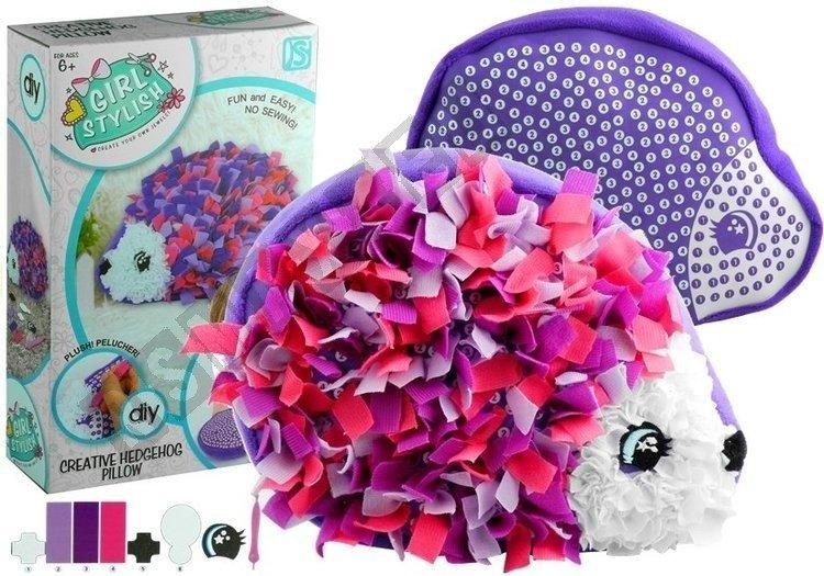hedgehog pillow plush craft diy