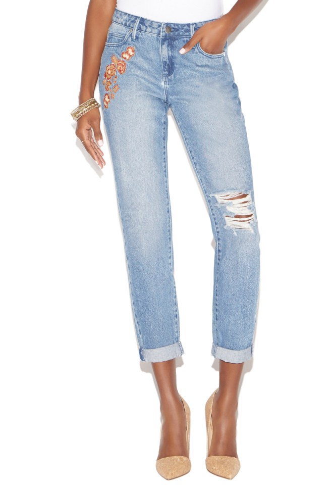 embroidered jeans, top picks