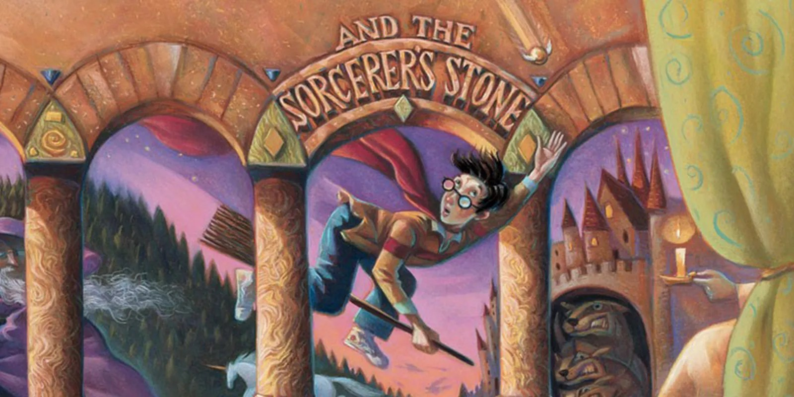 Stone Harry Sorcerers