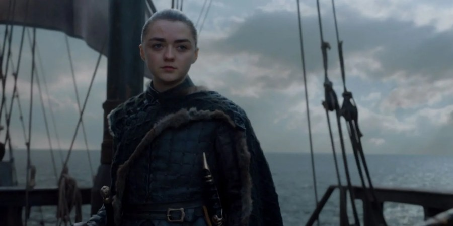 Risultati immagini per game of throne arya on the ship