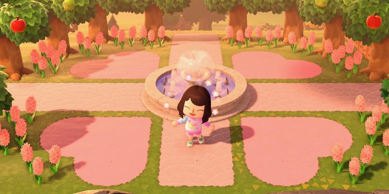Animal Crossing: New Horizons - Island Entrance Design ... on Animal Crossing Kitchen Island  id=63549