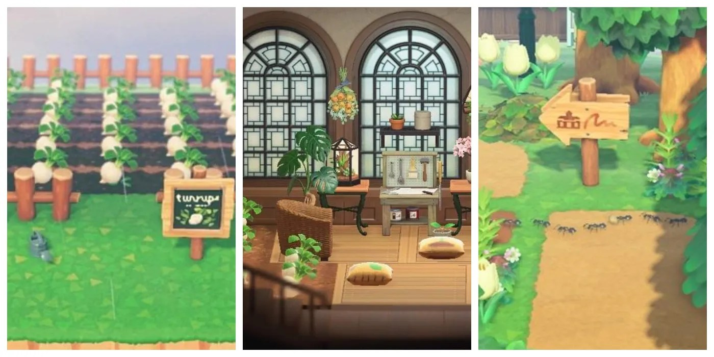 Animal Crossing: New Horizons - Creative Ways To Store Turnips on Animal Crossing Room Ideas New Horizons  id=54577