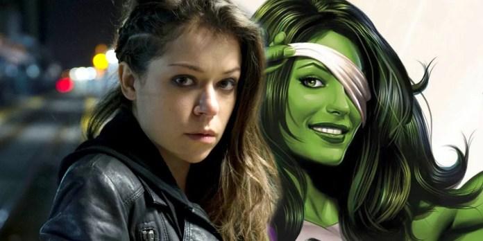 She-Hulk set photo show First Look at Tatiana Maslany's Jennifer Walters -  Geeky Craze