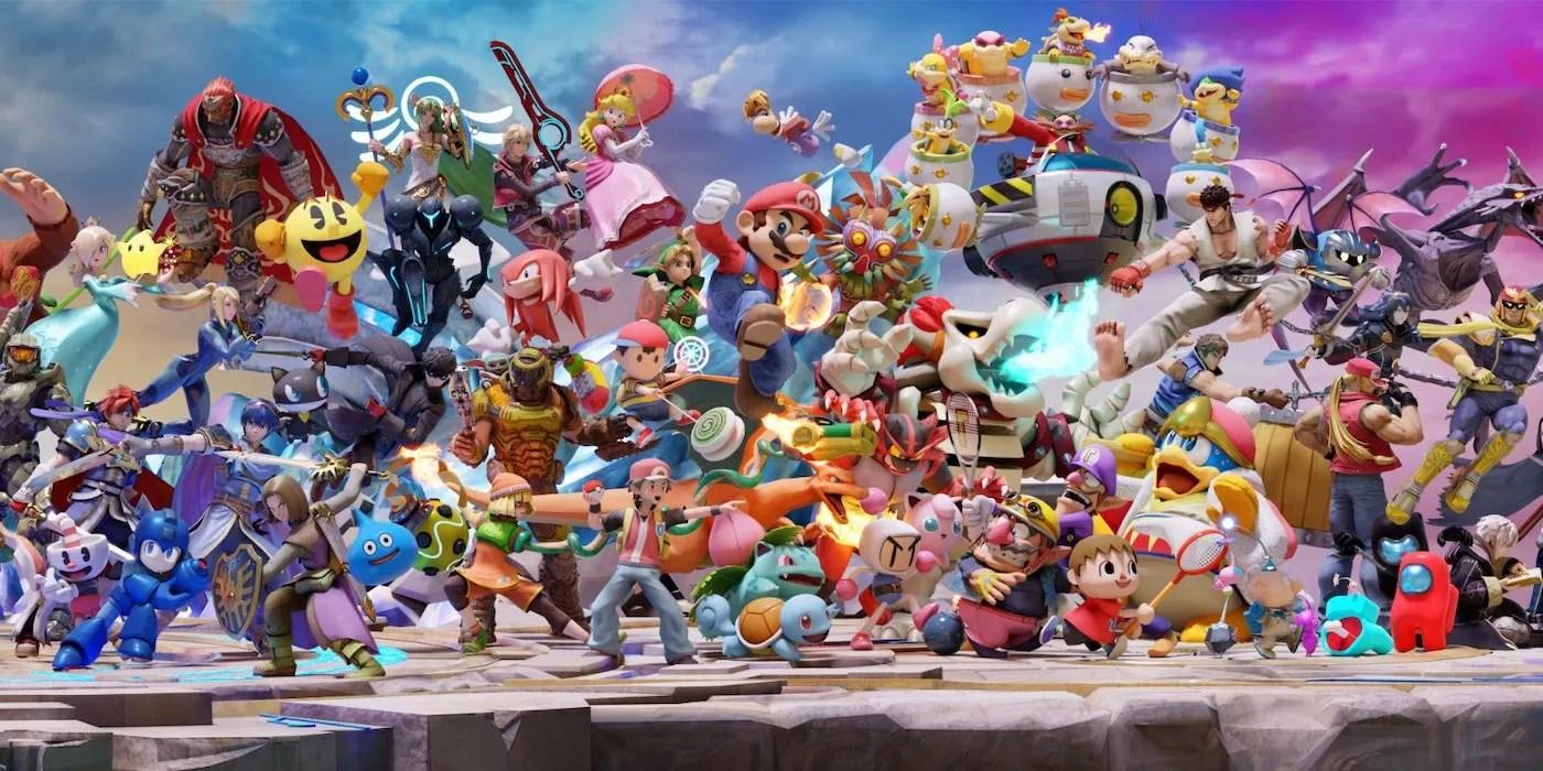 super smash bros ultimate roster grows