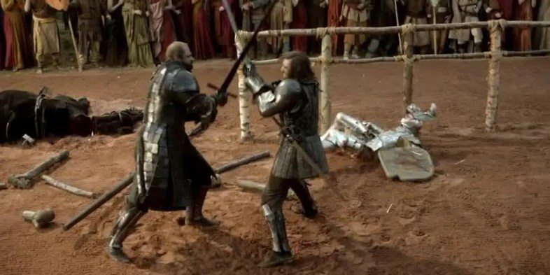 The Mountain vs The Hound
