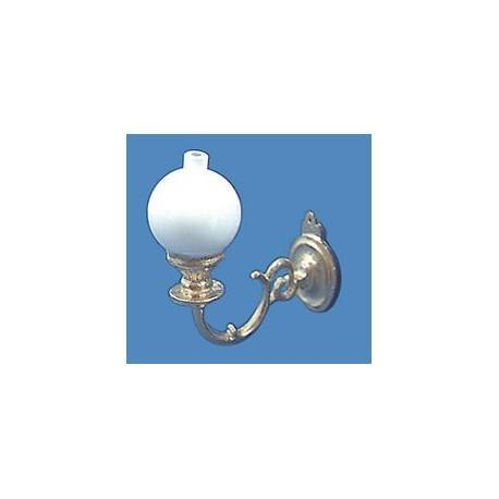 Sconce W/ball-gold, Non-electric | Dollhouse Ceiling ... on Non Electric Wall Sconce Lights id=38624