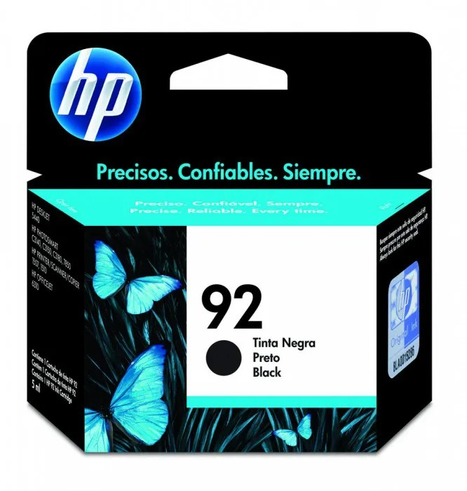 Cartucho Hp 92 Original C9362wl Black Impressora Hp
