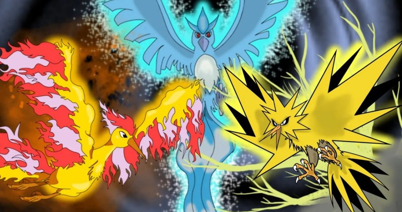15 Surprising Facts About The Three Legendary Birds: Articuno, Zapdos, and  Moltres