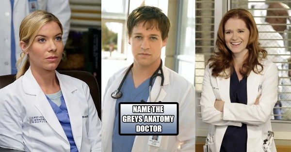 Are You The Biggest Grey's Anatomy Fan? Name These Doctors