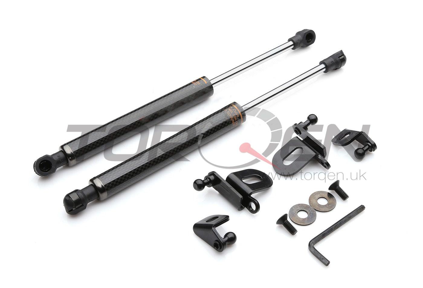 370z P2m Carbon Fiber Bonnet Damper